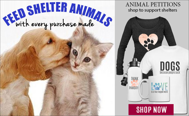 Shop to feed shelter animals